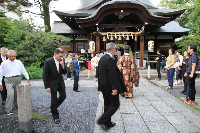 京都 茅の輪 くぐり